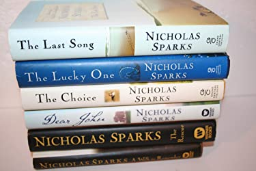 Nicholas Sparks 1st Edition 6-title Collection