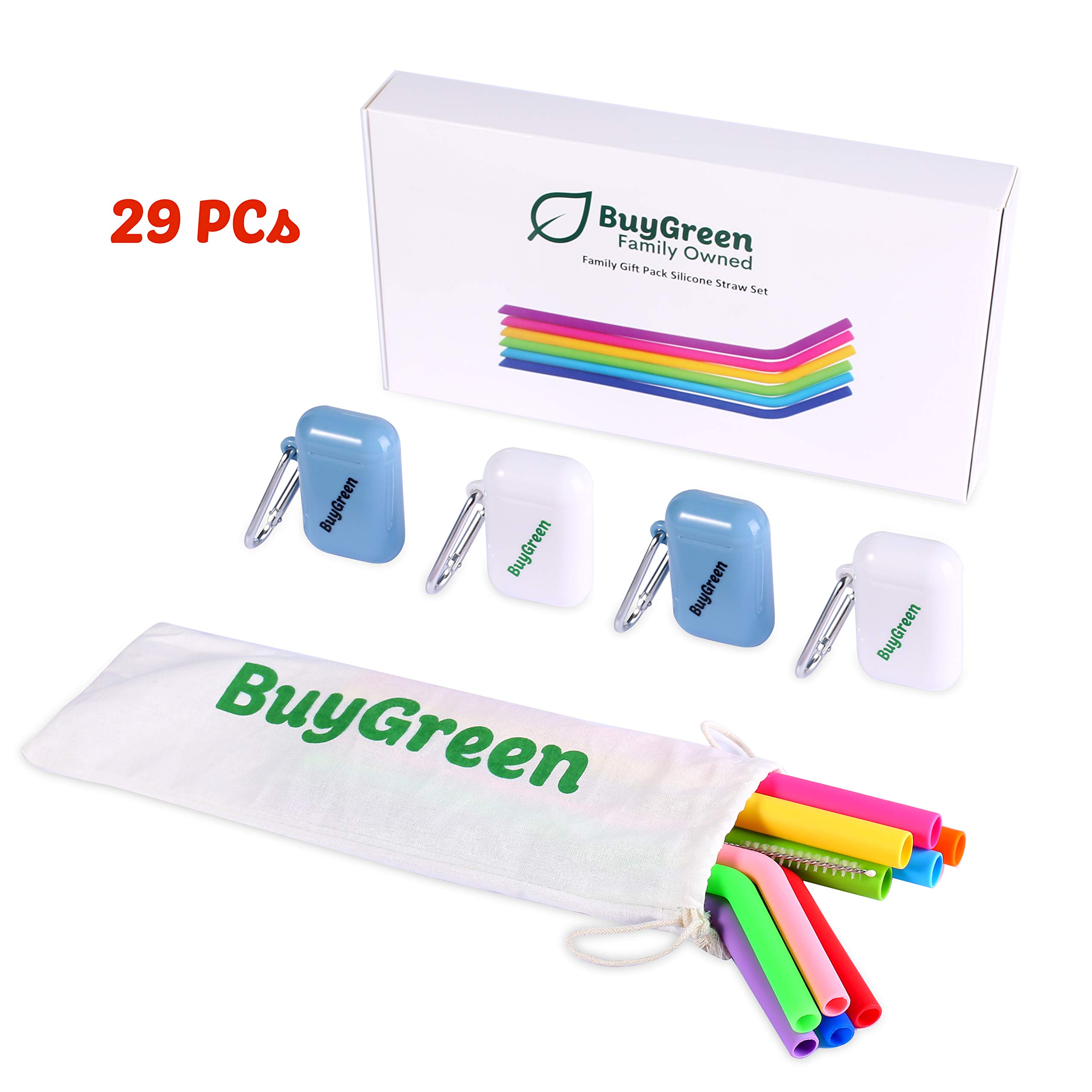 BuyGreen Silicone Friendly Collapsible Stainless