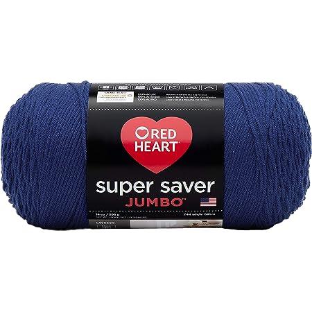 Red Heart Super Saver Jumbo E302C, Royal