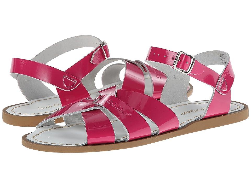 Salt Water Sandal by Hoy Shoes The Original Sandal (Big Kid/Adult) (Shiny Fuchsia) Girls Shoes