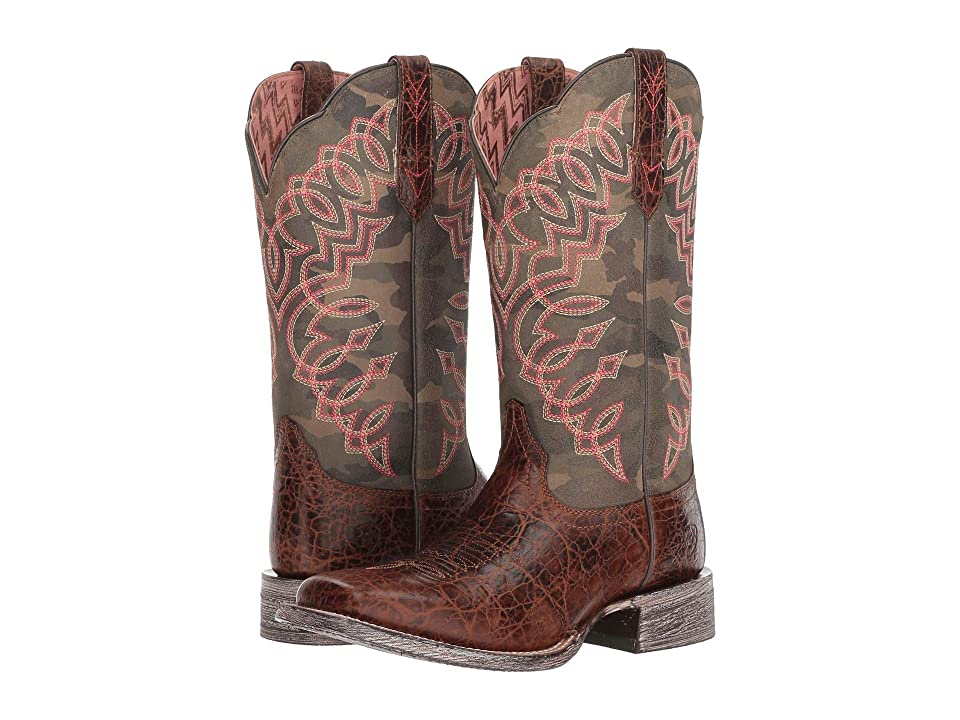 Ariat Circuit Cisco (Weathered Desert Tan/Camo) Cowboy Boots