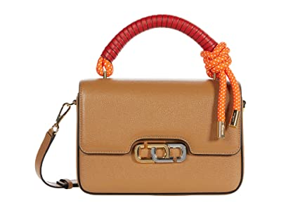 Marc Jacobs The J Link Twist Shoulder Bag (Dirty Chai) Handbags