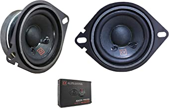 "$34 » Pair of Alphasonik 2.75"" 180 Watt 3 Ohm Dual Cone 2-Way Full Range Speaker NS275"