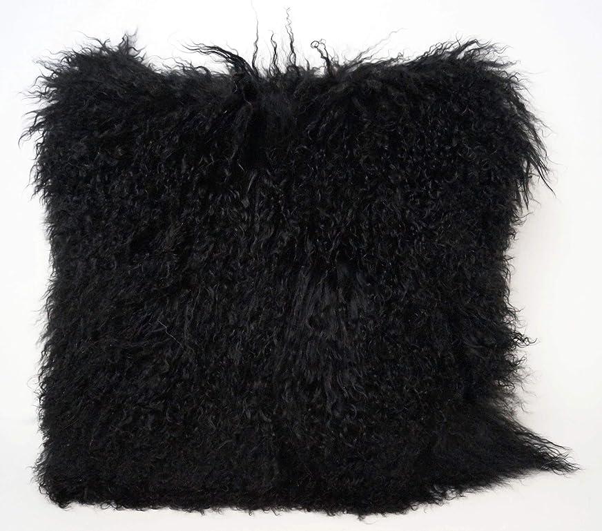 生きる移行する社会科エキゾチック ブラック チベット 羊 枕 26
