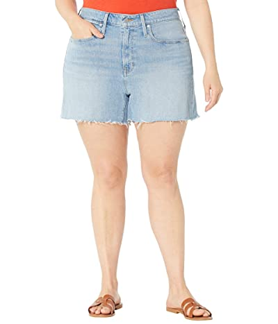 Madewell Plus Size Curvy Perfect Vintage Shorts in Baylis Wash Women