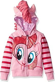 My Little Pony Girls' Pinky Pie Hoodie/Tee Bundle