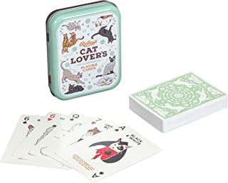 Ridley's Cat Lovers Deck of 52 Illustated Cat Breed Index Playing Cards