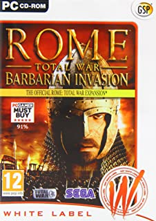 Rome Total War: Barbarian Invasion - Official Expansion Pack (PC CD) by Avanquest Software