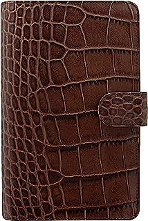 Filofax 26015Fuchsia Croc Compact Classic Chestnut