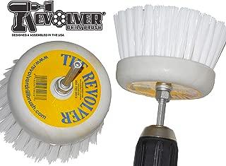 REVOLVER DRILL BRUSH Power Scrubbing Drill Attachment Multi-Purpose Cleaning Tool (Pack of 2)