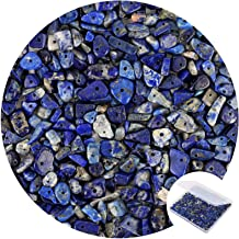 20pcs Natural Lapis Lazuli Stone Beads 2-Hole Smooth Arch Gems Spacers 14~15mm