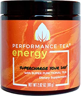 Sponsored Ad - ENERGY by Peformance Tea - Instant Coffee Alternative + Immunity Booster with No Sugar, No Crash & Low Caff...