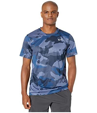 Nike Dry Tee Legend Camo All Over Print (Ocean Fog) Men