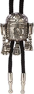 Knighthood Men's Silver R2 Robot Collar Accessories/Bolo Ties/Bow Ties