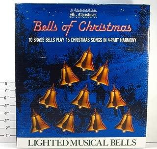 Mr. Christmas Bells of Christmas Brass Lighted Musical Bells