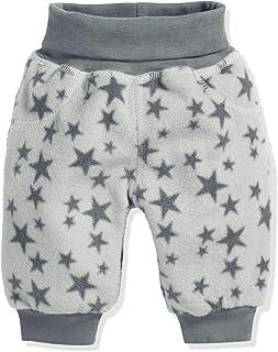 Schnizler Unisex Baby Hose Fleece Pumphose Babyhose Sterne mit Strickbund, Oeko-Tex Standard 100