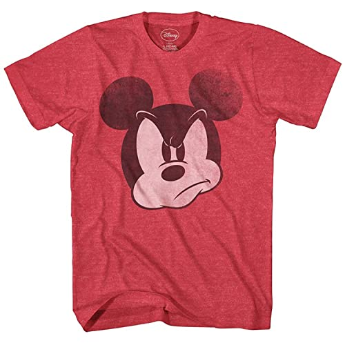 d8086c6f2 Disney Mad Mickey Mouse Adult Mens T-Shirt