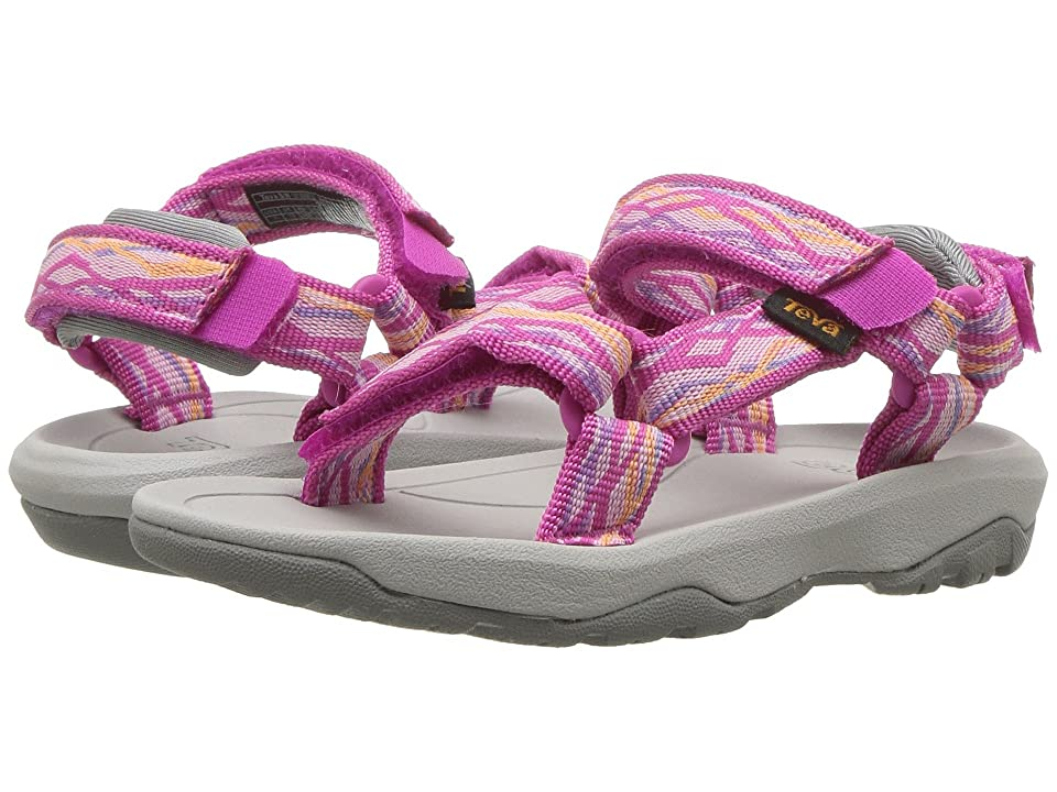 d3668e02c834c Teva Kids Hurricane XLT 2 (Toddler) (Delmar Pink) Girls Shoes