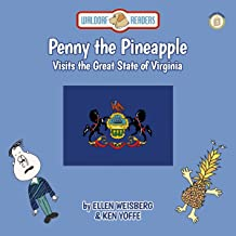 Penny the Pineapple Visits the Great State of Virginia