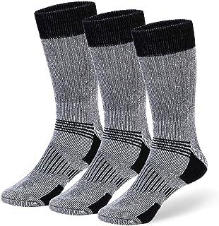 COZIA Wool Socks 80% Merino Men's and Women's Warm Thermal Boot Socks 3 Pairs