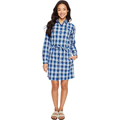 Jack Wolfskin Rock Chill Dress (Midnight Blue Checks) Women