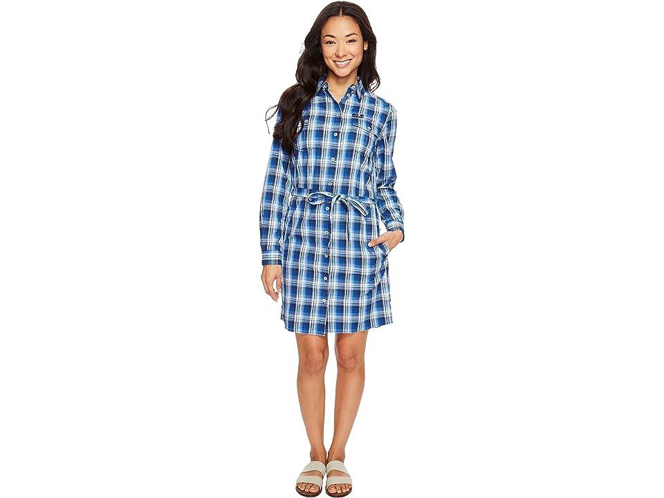 Jack Wolfskin Rock Chill Dress (Midnight Blue Checks) Women