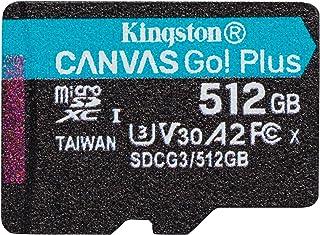 キングストン microSD 512GB 170MB/s UHS-I U3 V30 A2 Nintendo Switch動作確認済 Canvas Go! Plus SDCG3/512GB 永久保証