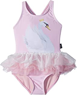 Rock Your Baby Swan Lake Tulle One-Piece (Infant)