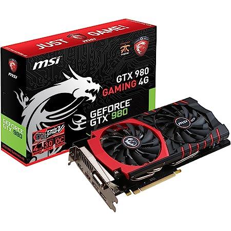 MSI GAMING GeForce GTX 980 4GB OC DirectX 12 VR READY (GTX 980 GAMING 4G)