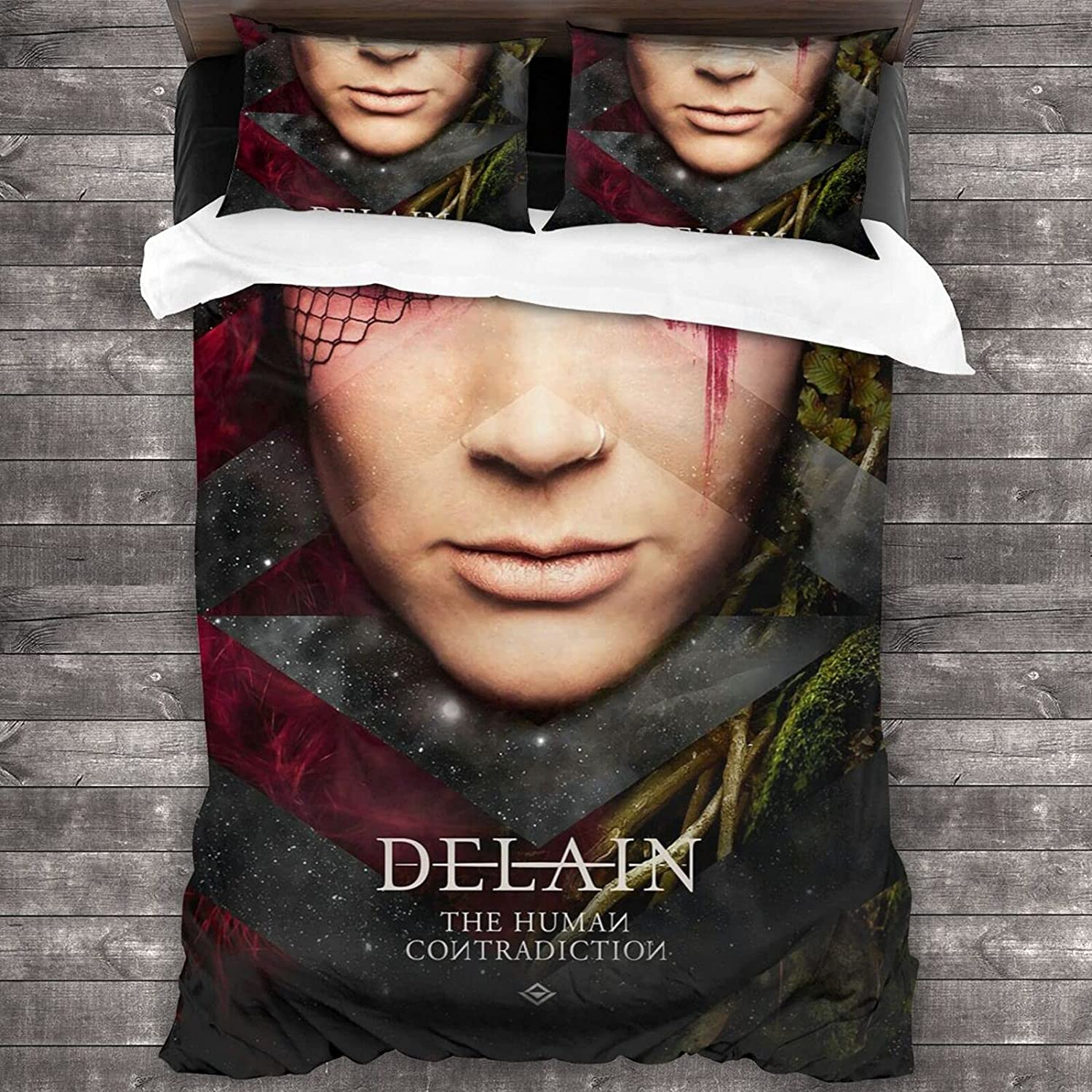 Easy-to-use Delain Quilt Set Decorative 3 Piece 2 with S Pillow Bedding 55% OFF