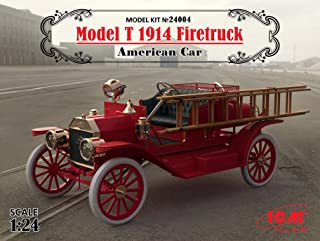 MODEL T 1914 FIRETRUCK, AMERICAN CAR 1/24 ICM 24004