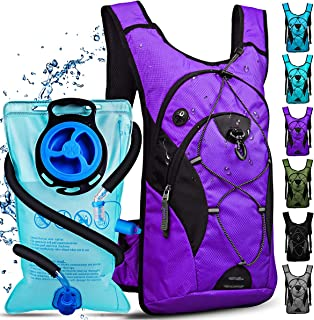 NONSAR Hydration Pack, Insulated Water Backpack with 3L BPA Free Water Bladder, Compatible with Helmet, Keep Liquids Cool ...