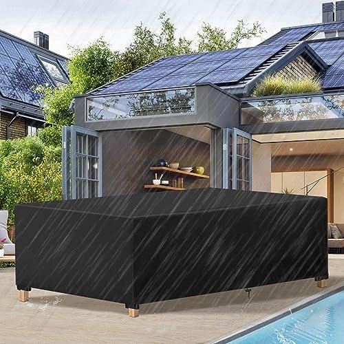 Essort Housses de Meubles 213x132x74cm, Housse Salon de Jardin Imperméable, Housse de Protection Meubles Couverture d...
