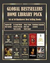 Global Bestsellers Home Library Pack: Set of 10 Hardcover Bestselling Books By Napoleon Hill, Joseph Murphy, Dale Carnegie...
