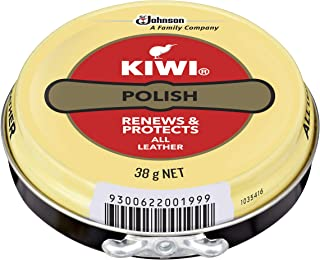KIWI Polish, Renews & Protects Leather Shoes, Neutral, 38 g