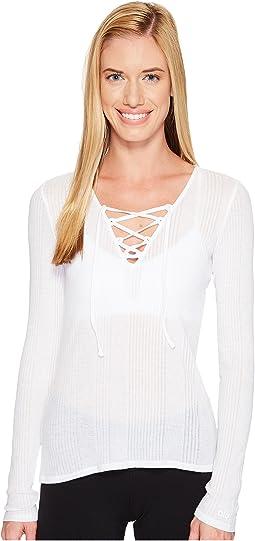 ALO - Interlace Long Sleeve Top