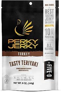 Perky Jerky Turkey Teriyaki, 5 Oz Bag