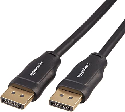 AmazonBasics DisplayPort to DisplayPort Cable - 25 Feet
