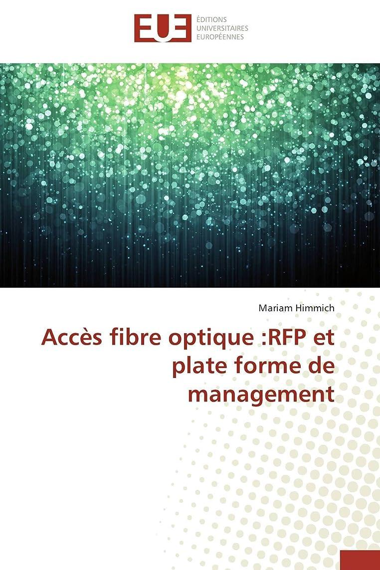 祝福する建物フロンティアAccès Fibre Optique: RFP Et Plate Forme de Management (Omn.Univ.Europ.)