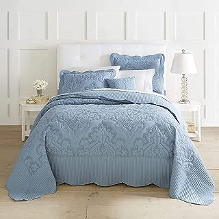 BrylaneHome Amelia Bedspread - Ashley Blue, Full