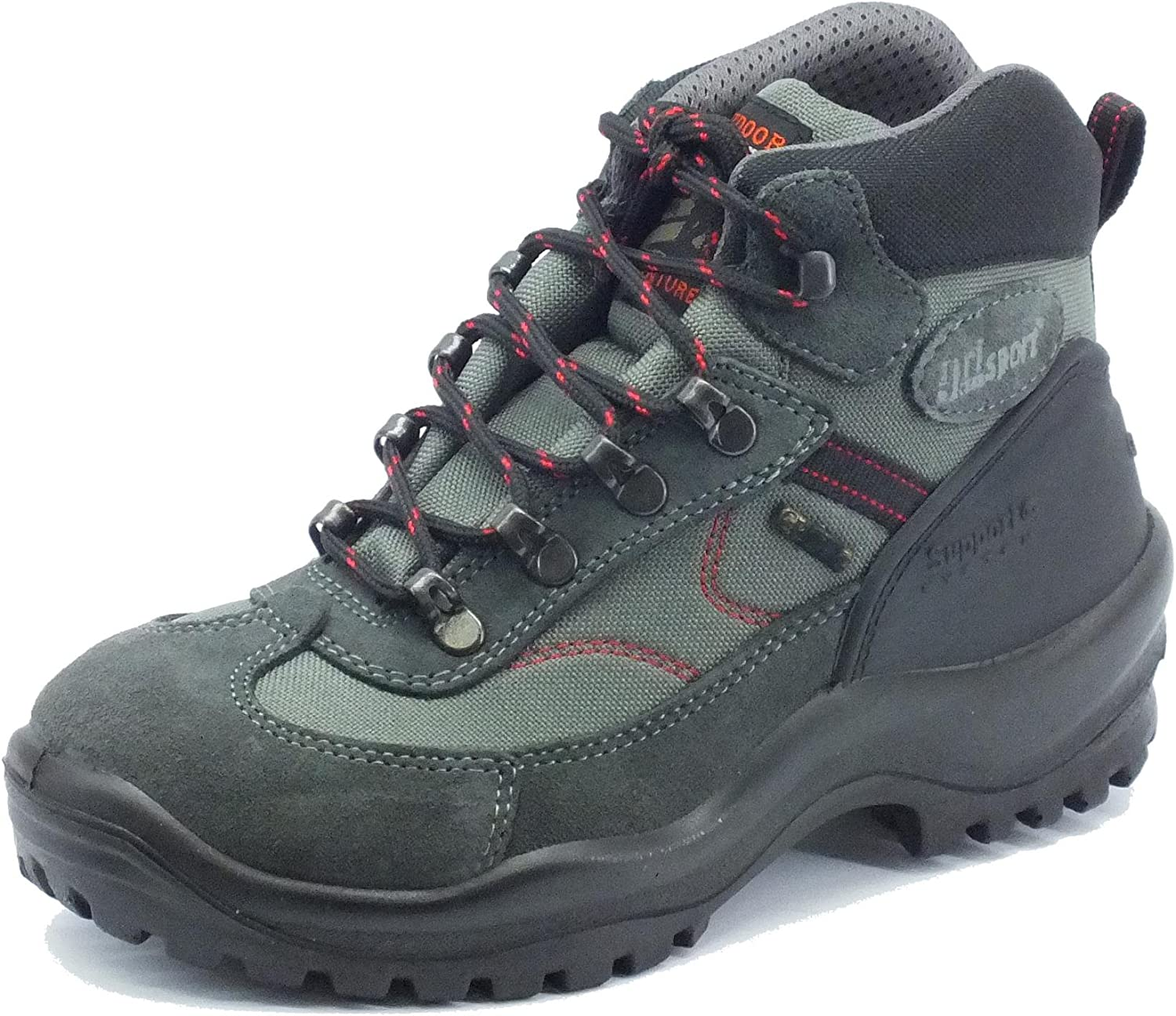 greyport Men's 10664s18g Antracite Scamosciato Hiking shoes