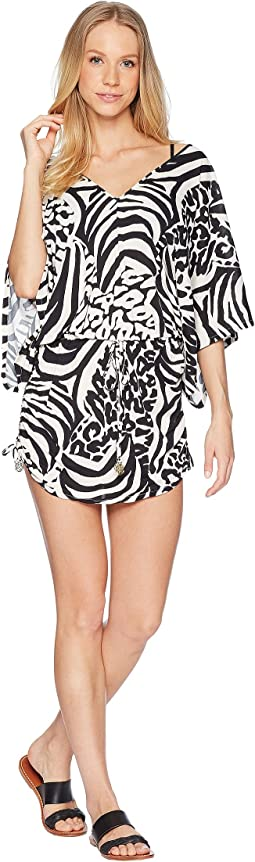 Cayo Setia Cabana V-Neck Dress Cover-Up