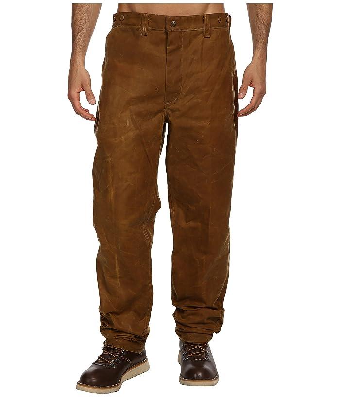Men's Vintage Workwear – 1920s, 1930s, 1940s, 1950s Filson Oil Finish Single Tin Pant Tan Mens Casual Pants $195.00 AT vintagedancer.com
