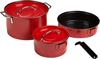 Coleman 17297 Family Cookset Red