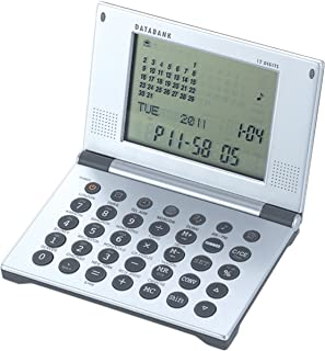 Natico Multifunctional World time Clock, Calendar, Calculator with Data Bank (10-WT263)