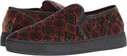 Carpet Print Slip-On Sneaker