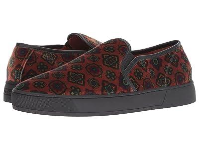 Etro Carpet Print Slip-On Sneaker (Medium Brown) Men