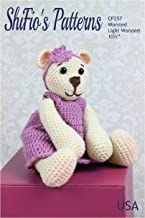 Crochet Pattern for Bear Toy, Betty Bear, Worsted and Light Worsted Yarn, Child's Toy CP257 by ShiFio's Patterns