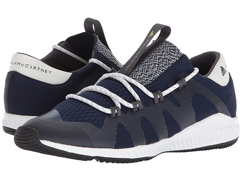 adidas by Stella McCartney Crazy Train Pro (Collegiate Navy/Core White/Aero Lime S11) Women