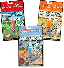 Melissa & Doug Water Wow Bundle: Farm, Safari And Under The Sea